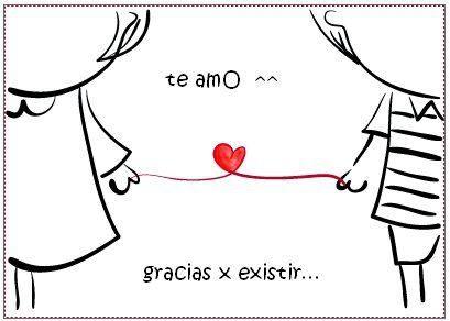 te amo, gracias por existir  - AnsinaEs.com