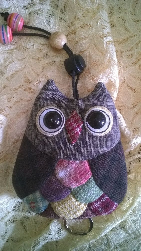 owl key cover by Munkongshop on Etsy