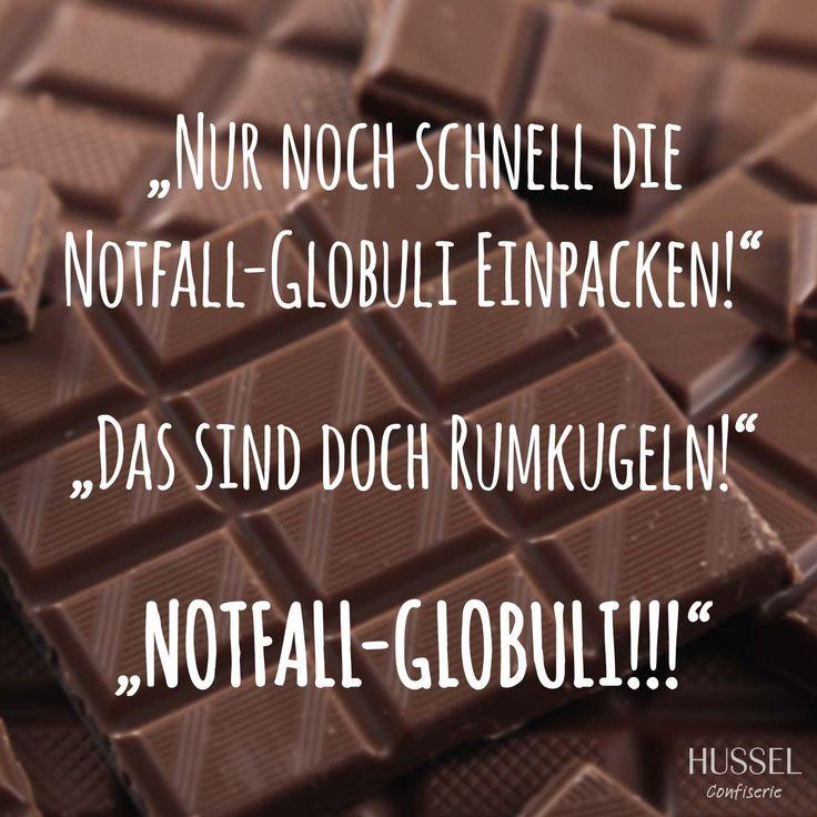 """""""Nur noch schnell die Notfall-Globuli einpacken!"""" - """"Das sind doch Romkugeln!"""" - """"NOTFALL-GLOBULI!!!"""" #Rumkugeln #Globuli #Schokolade #Spruch #Lustig #Hussel"""