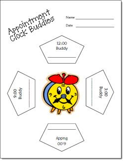 Appointment Clocks freebie for creating pairs of students who will work well together. Directions can be found on this page in Laura Candler's online file cabinet.