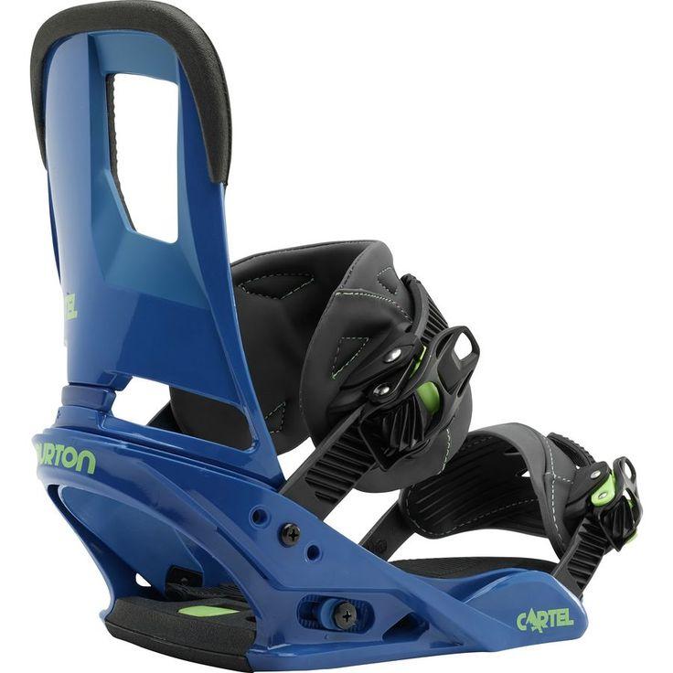 Burton Cartel Re:Flex Snowboard BindingSwitchback Blue