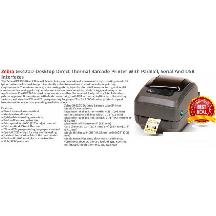 Zebra GK420D- Printer special