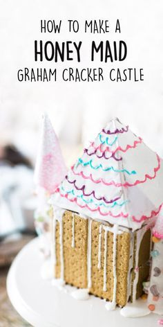 The best part about this tutorial on how to make a HONEY MAID Graham Cracker Castle, is that it's perfect for a variety of occasions. Your daughter's birthday party? Grab the pink and purple icing and plenty of sprinkles! Looking for a fun winter activity for your annual holiday party? Grab some festive embellishments and set up a decorating station for younger party guests! Plus, you can find all the marshmallow and chocolate dessert essentials you need at Walmart!