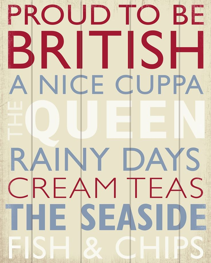 Proud to be British Canvas, But I hate Tea!