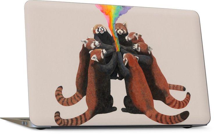 Red Pandas Laptop Skin