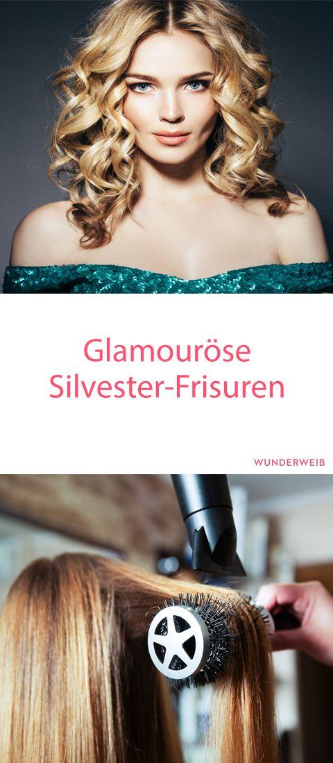 Perfekt gestylt durch die letzte Nacht des Jahres bist du mit diesen hübschen Silvester-Frisuren! #frisuren #silvester #partylook
