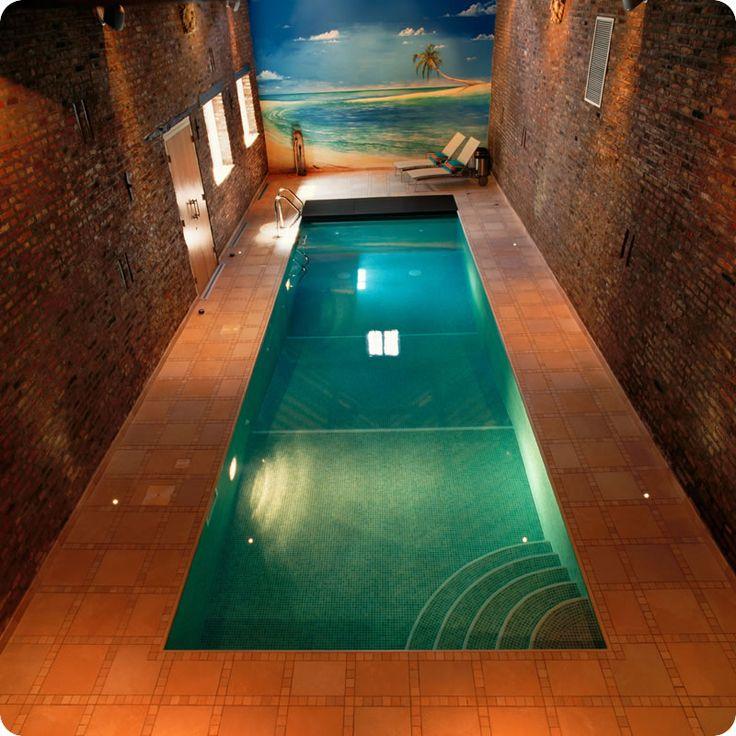 Swimming Pool For Small Indoor Area In 2020 Indoor Pool Design Small Indoor Pool Indoor Swimming Pool Design