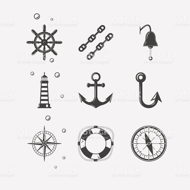 Sea Black Icon royalty-free stock vector art