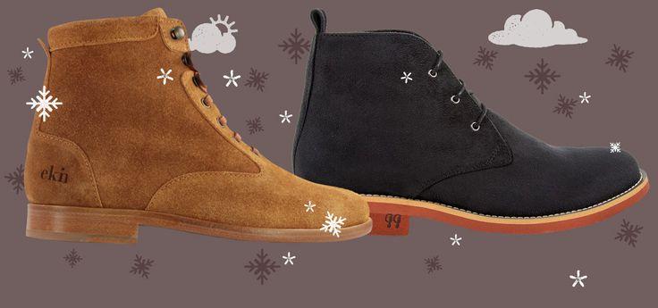 Besser unterwegs: schöne Winterschuhe gibt es auch in in fair, nachhaltig und vegan (Foto: ekn footwear, GoodGuys)