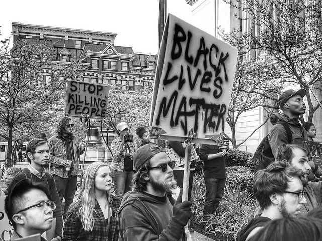 In the last two years that I've organized around antiblack violence and within the #BlackLivesMatter
