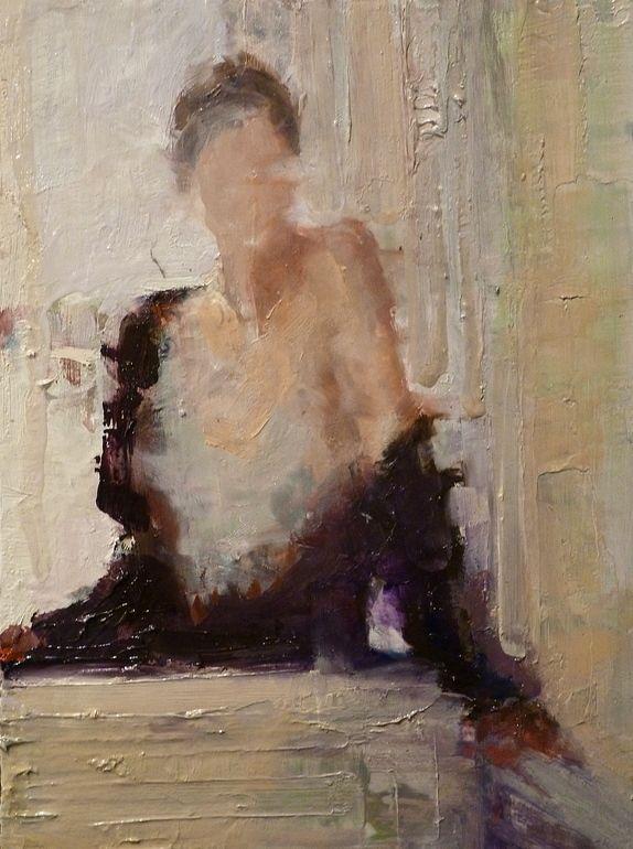 "Saatchi Online Artist: Fanny Nushka Moreaux; oil 2013 Painting ""Venice, 2013"""