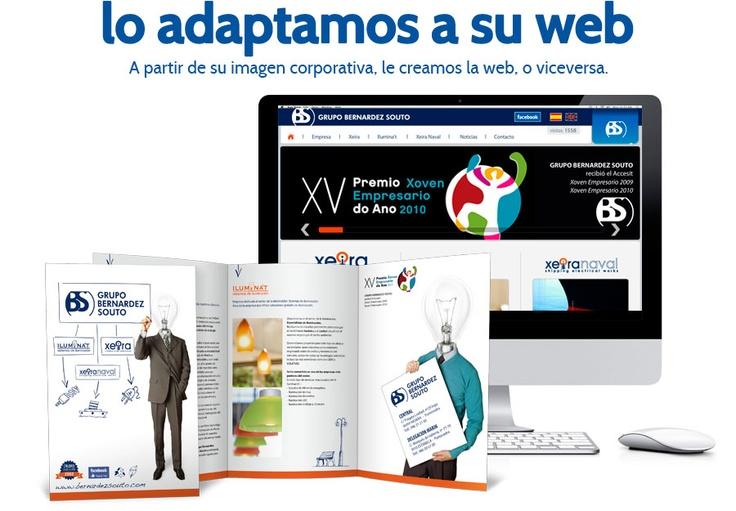 Diseño web en Pontevedra. En Nerade estamos especializados en diseño de paginas web en Pontevedra. Diseños web optimizados al 100% en los buscadores SEO. Pídenos presupuesto sin compromiso.: Los Buscador,  Website