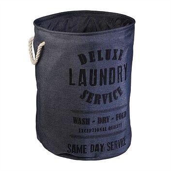 Briscoes - Pelham Laundry Hamper Grey $17.99