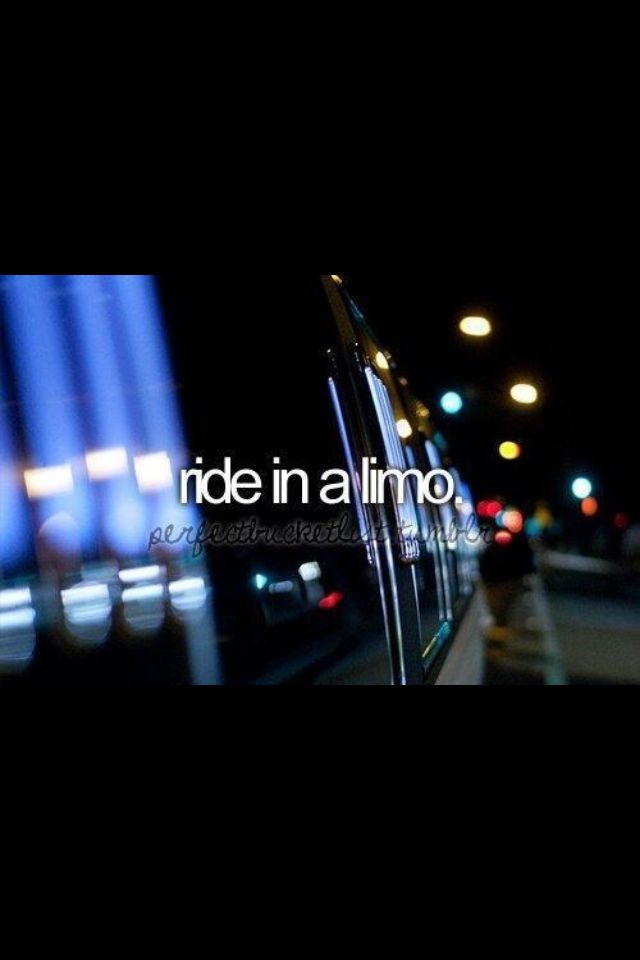 I went on a surprise limo ride on a friend's birthday party (Jordan)- she didn't…