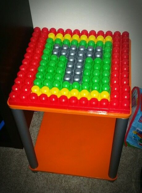 Mega blocks table diy
