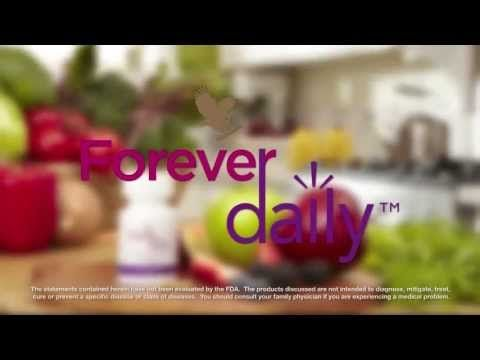 Forever Daily™ Dietary Supplement - Forever Daily is a revolutionary dietary supplement, which contains a balanced blend of 55 nutrients, providing your daily energy needs & support immune system, metabolism, cardiovascular health, bone health & proper mental activity.