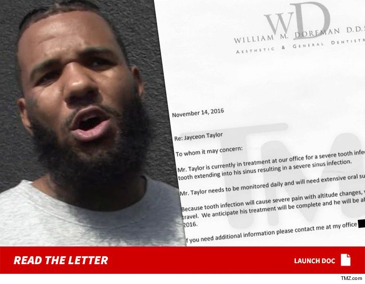 The Game -- $7 Million Excuse ... My Tooth Hurts, Ask My Dentist (DOCUMENT) - http://blog.clairepeetz.com/the-game-7-million-excuse-my-tooth-hurts-ask-my-dentist-document/