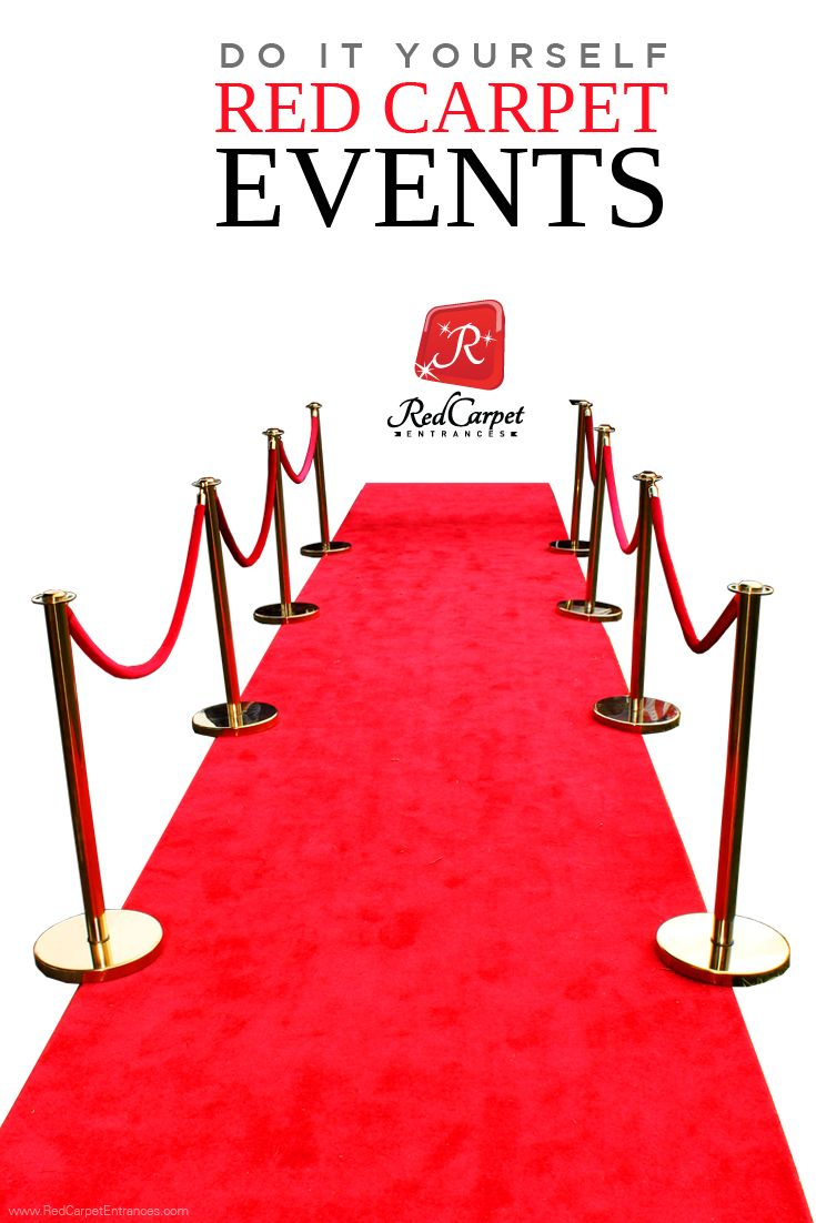 DIY Red Carpet Events and Hollywood Theme Parties! Custom cut carpet runners and event rugs specifically designed for VIP experiences. Great for your special event, business, venue, or promotion! Any size, shape, or color! 24 Hour Production Turnaround. FREE CARPET SAMPLES! See it before your buy it guarantee. We print Red Carpet Backdrops / Step and Repeats too! Let us help you build the event of your dreams!