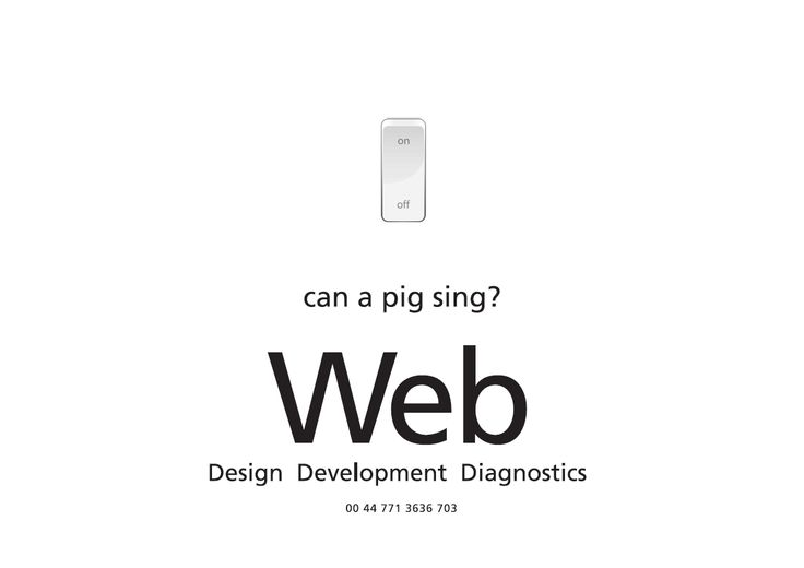 Io Web - Design Development Diagnostics - I ask myself this  question every day.  If they do they must do it when no-one is listening, in which case... can they be said to sing?