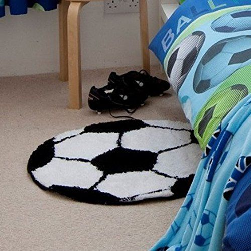 Catherine Lansfield Its a Goal Football Rug ** Find out more about the great product at the image link.Note:It is affiliate link to Amazon.