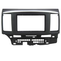 Car Dash Frame Radio Fascia for Mitsubishi Fortis for Lancer 2010 2DIN AutoStereo Panel kit CD Trim Installation Car Detector