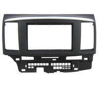 Car Dash Frame Radio Fascia for Mitsubishi Fortis for Lancer 2010 2DIN AutoStereo Panel kit CD Trim Installation Car Detector