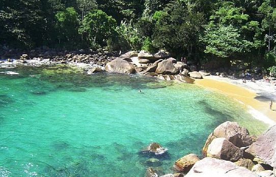 Praia do Cachadaço - Angra dos Reis, Brasil