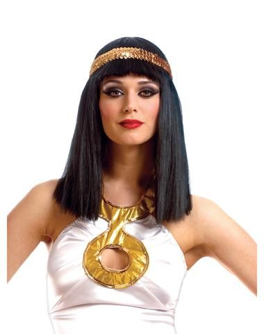 Cleopatra Wig with Headband