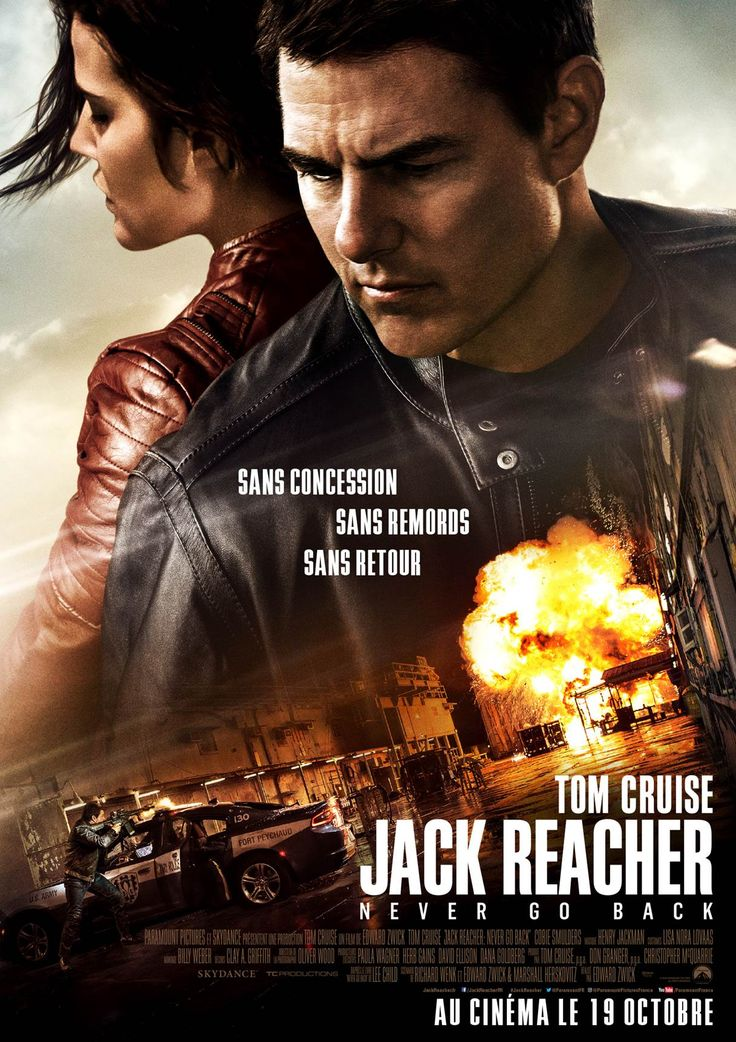 Jack Reacher : Never Go Back réalisé par Edward Zwick. http://place-to-be.net/index.php/cinema/en-salles/5397-jack-reacher-never-go-back-realise-par-edward-zwick