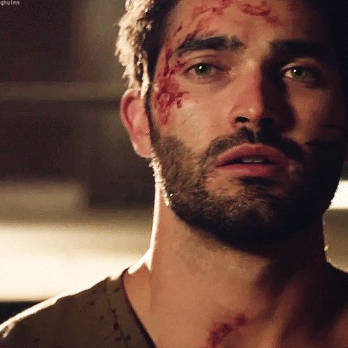 "I mean... Can we just... I don't even... What? | 26 Reasons Why Derek Is The Sexiest Monster On ""Teen Wolf"""