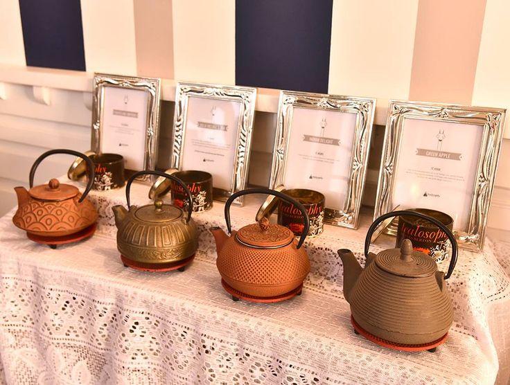 Tealosophy en los #servicios de té de #villavicuña