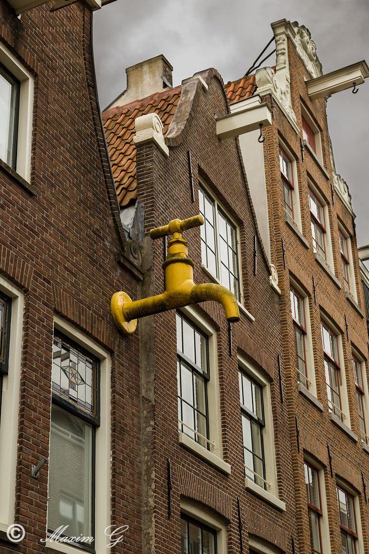 Jordaan  #amsterdam #netherlands #jordaan #watertap #architecture #photography