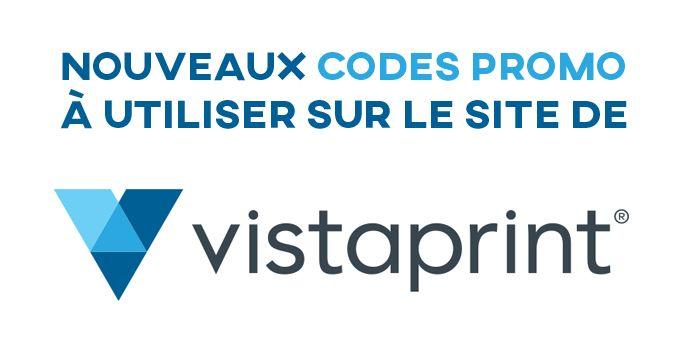 Les derniers codes promo Vistaprint