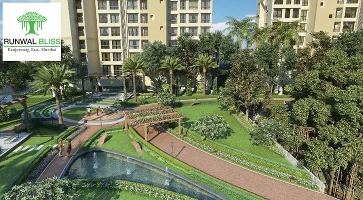 Runwal Bliss - Flats For Sale In Kanjurmarg.  Located just 10 minutes away from Powai, at Kanjurmarg East, Runwal Bliss comprises of beautifully designed residences, landscaped open spaces and some of the best recreational amenities on offer.