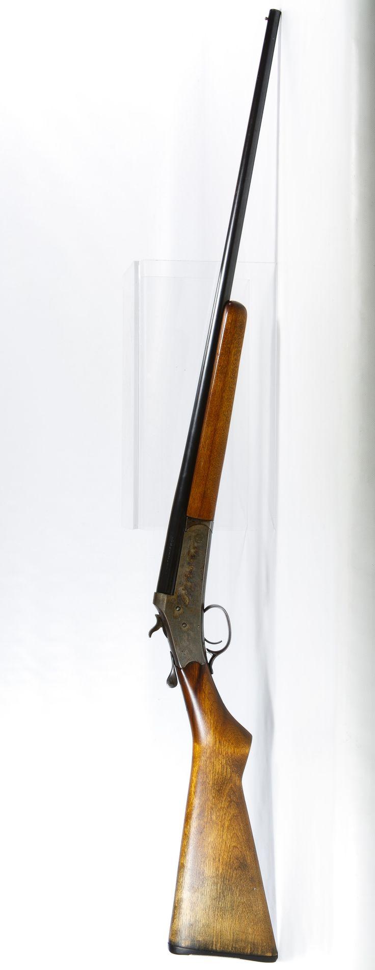 Lot 272: Stevens Springfield 410 Ga. Single Barrel Shotgun; Breach load single shot shotgun