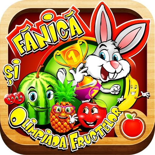 Aplicație – mobile – Fănică şi Olimpiada Fructelor   Magazin EduTeca.ro