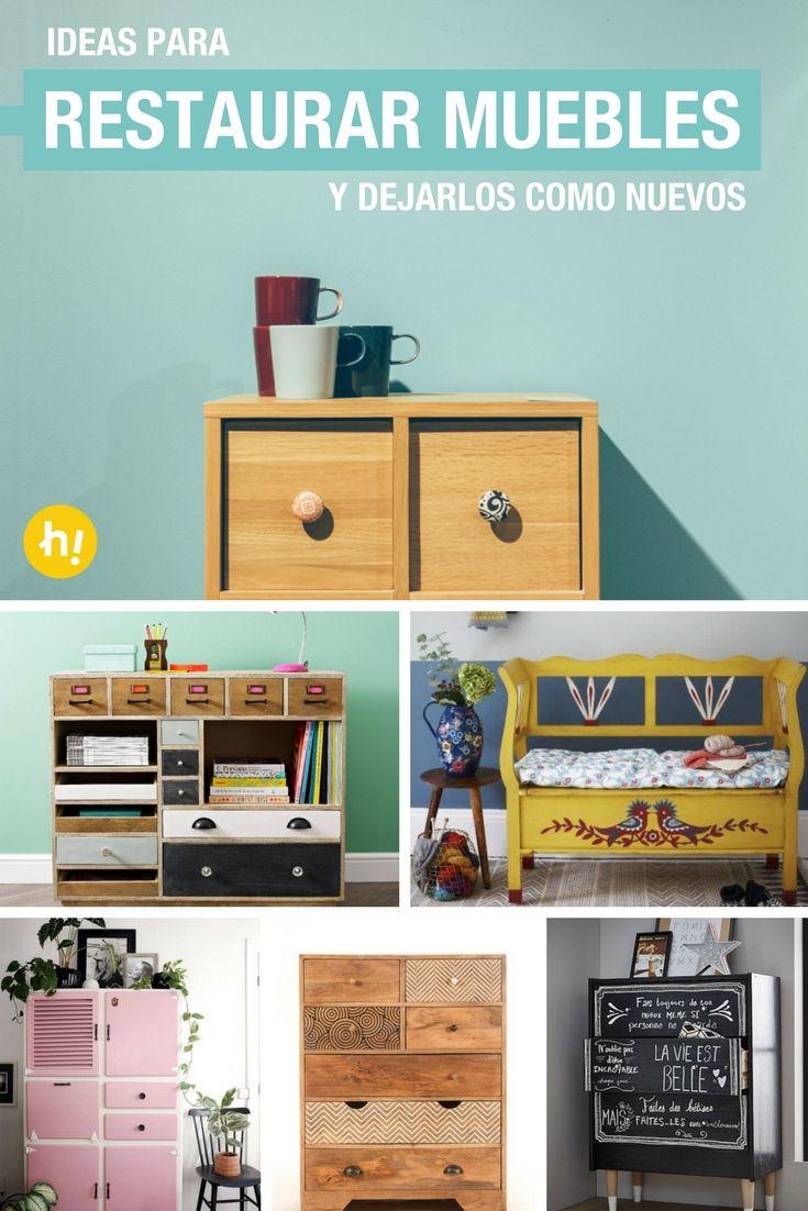M s de 25 ideas incre bles sobre restaurar muebles for Renovar muebles antiguos
