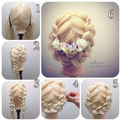 Cómo hacer lindos peinados con trenzas fáciles ~ Manoslindas.com
