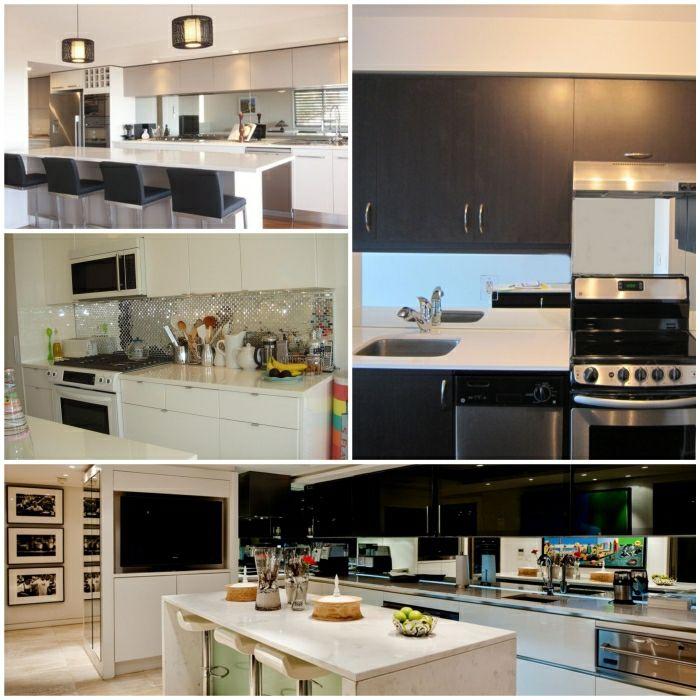 Küchenrückwand Ideen Küche Glasrückwand Küche Einrichten