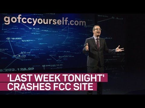 'Last Week Tonight' takes on the FCC crashes its site (again)(===================) My Affiliate Link (===================) amazon http://amzn.to/2n6MagF (===================) bookdepository http://ift.tt/2ox2ryU (===================) cdkeys http://ift.tt/2oUpFex (===================) private internet access http://ift.tt/PIwHyx (===================) The FCC insists a DDoS took down its website shortly after John Oliver's most recent segment on net neutrality aired but we're a little…