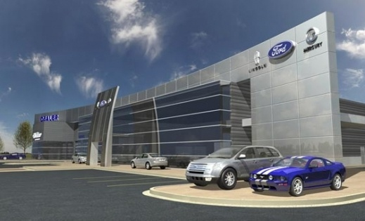 Futuristic ford dealership | Cool Dealerships | Pinterest ... - photo#11