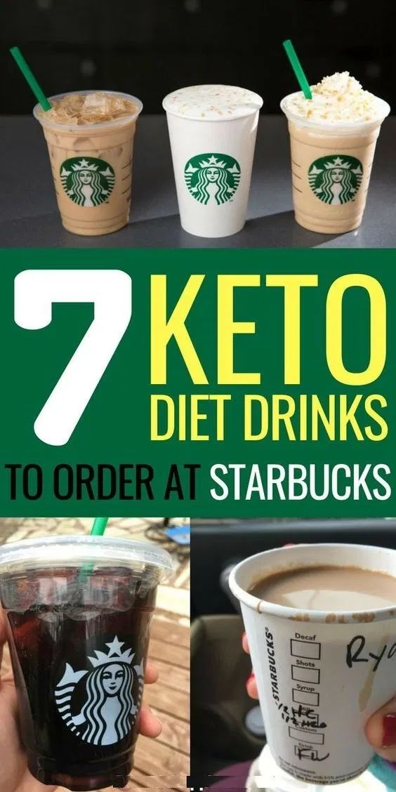 7 Low Carb Keto Starbucks Drinks to Stay in Ketosis   – Coffee drinks