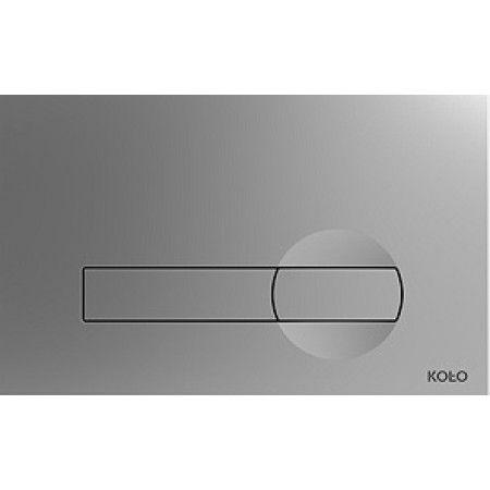 KOLO Clip ovládací tlačítko pro instalační modul, matný chrom 94163-003