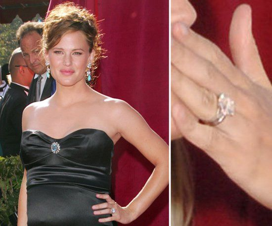 Pin for Later: The Very Best Celebrity Engagement Rings Jennifer Garner