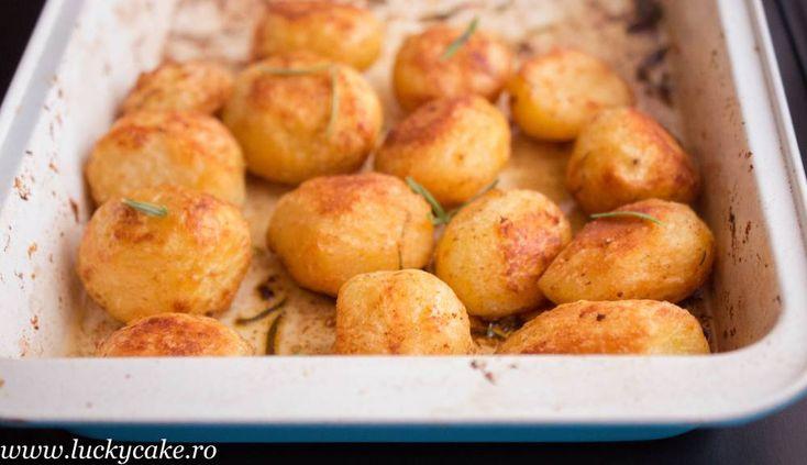 Cartofi rumeni la cuptor - Perfect rost potatoes