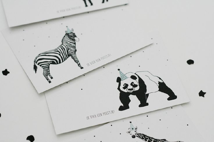 Party Animals - Uitnodigingen