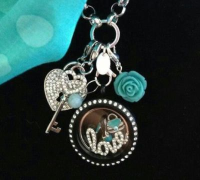 Win a Beautiful Oragami Owl Locket with Crystals  valued at $68!