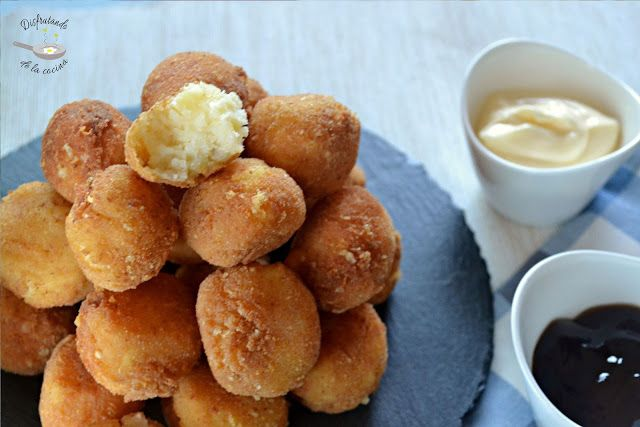 Deliciosa receta de Bolitas de patata y queso de Disfrutando de la Cocina