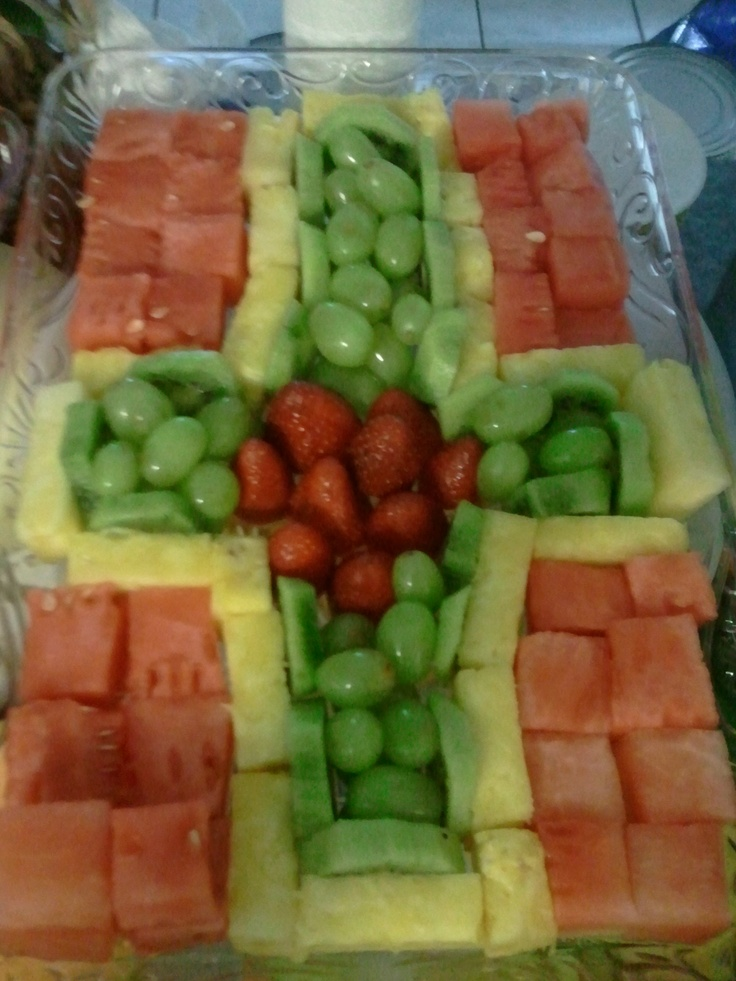decorative baptism fruit-->will be better in jello