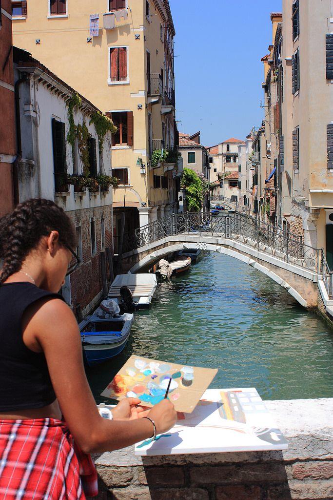 https://flic.kr/p/Hw5n6q   Cours d'Art a Venise in plein air   www.drawing-lessons.sognare-venezia.net